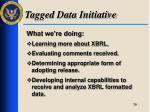 tagged data initiative3