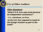 use of other auditors3