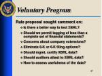 voluntary program4