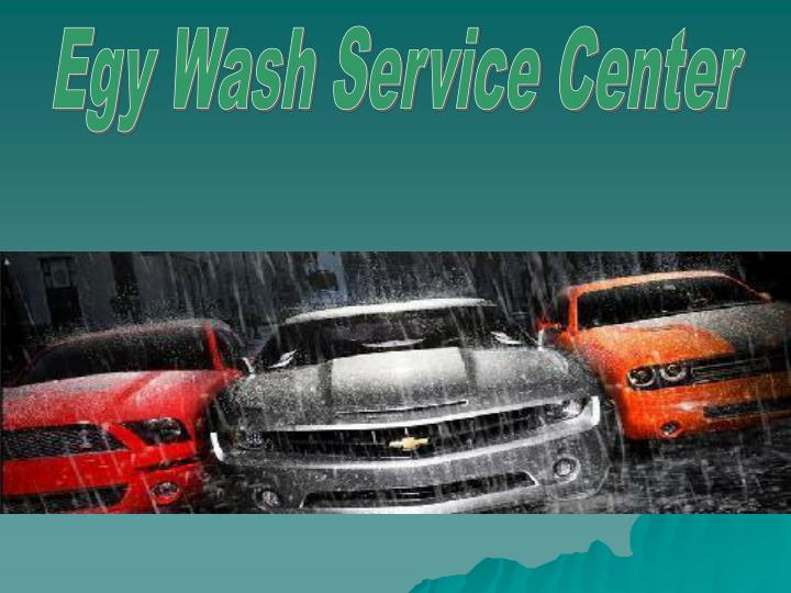 Egy Wash Service Center