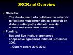 drcr net overview