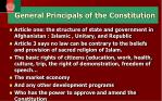 general principals of the constitution