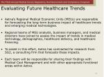 evaluating future healthcare trends