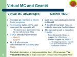 virtual mc and geant4