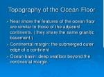 topography of the ocean floor10