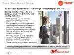 trane offers across europe