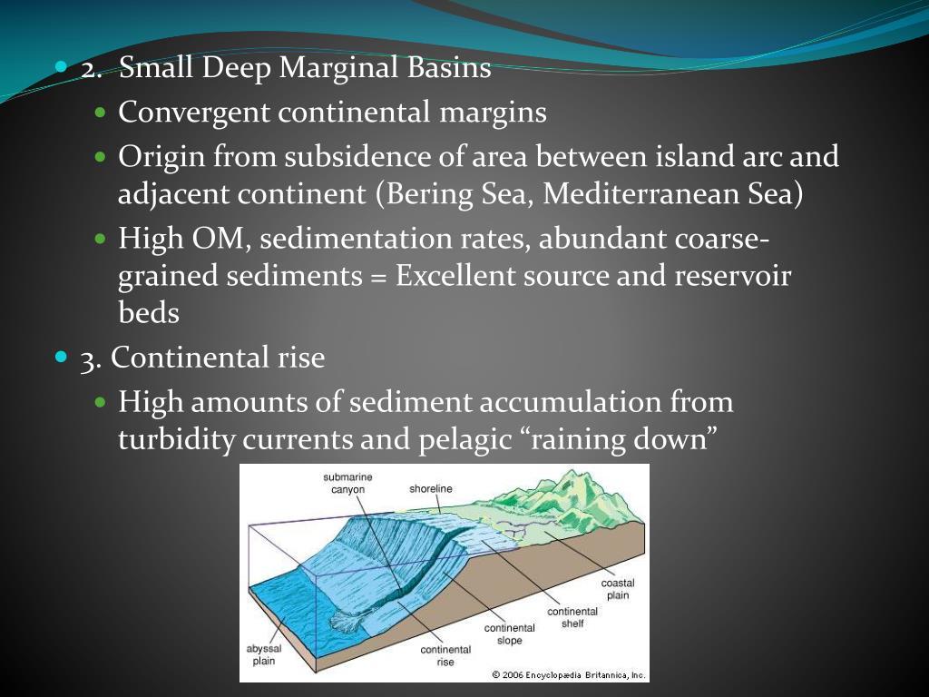 2.  Small Deep Marginal Basins
