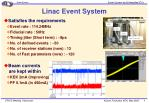 linac event system