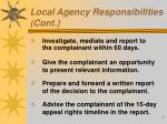 local agency responsibilities cont1