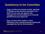 question s to the committee1