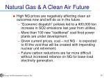 natural gas a clean air future