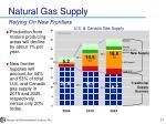 natural gas supply