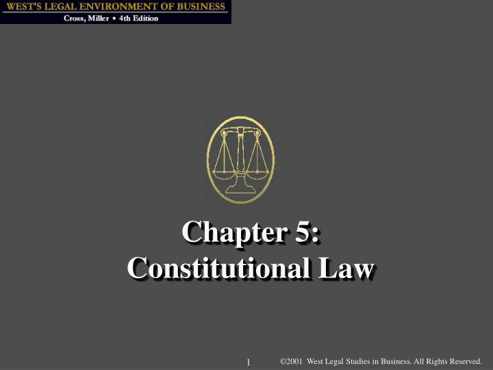 chapter 5 constitutional law n.