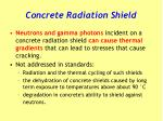 concrete radiation shield