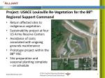 project usace louisville re vegetation for the 88 th regional support command