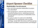 airport sponsor checklist2