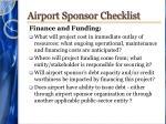 airport sponsor checklist3
