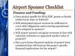 airport sponsor checklist4
