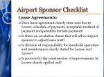 airport sponsor checklist6