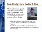 case study new bedford ma