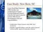 case study new bern nc