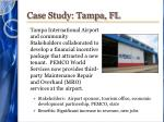 case study tampa fl