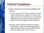 federal compliance