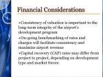 financial considerations1