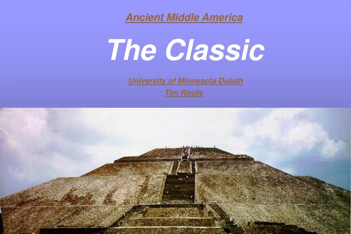 Ancient Middle America
