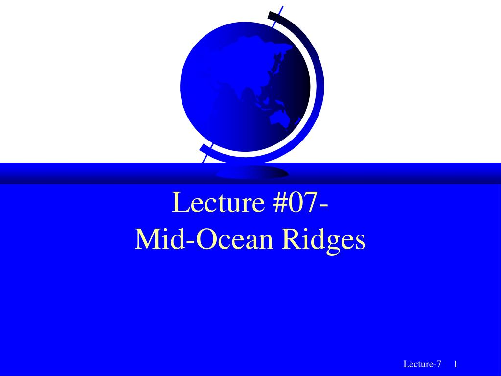 Lecture #07-