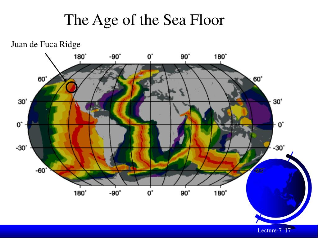 The Age of the Sea Floor