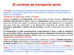 el contrato de transporte a reo