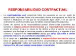 responsabilidad contractual