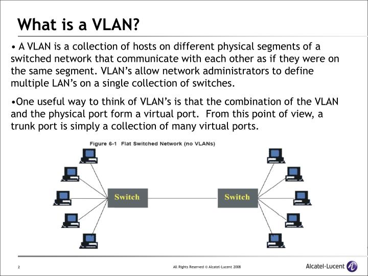 What is a vlan