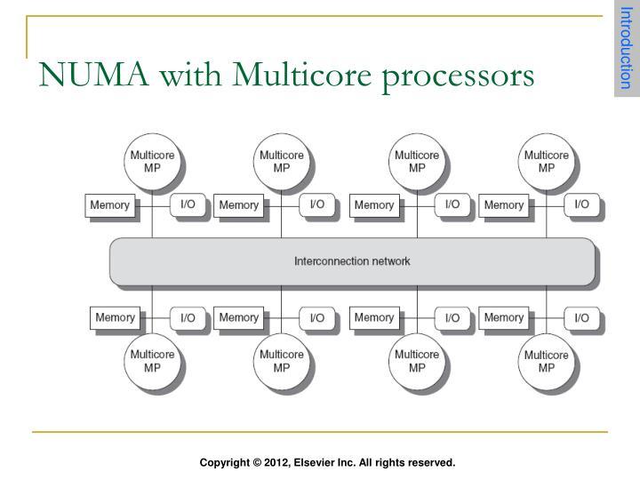 NUMA with Multicore processors