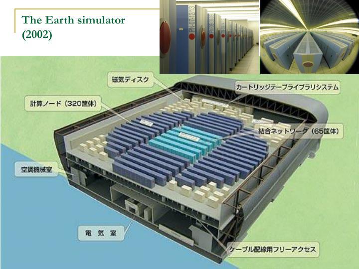 The Earth simulator