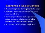 economic social context2