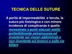 tecnica delle suture