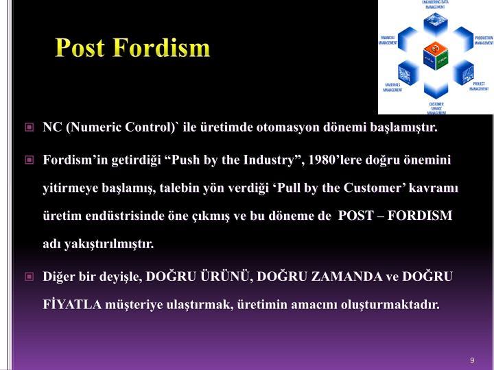 post fordism essay