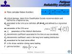 fatigue reliability analysis2