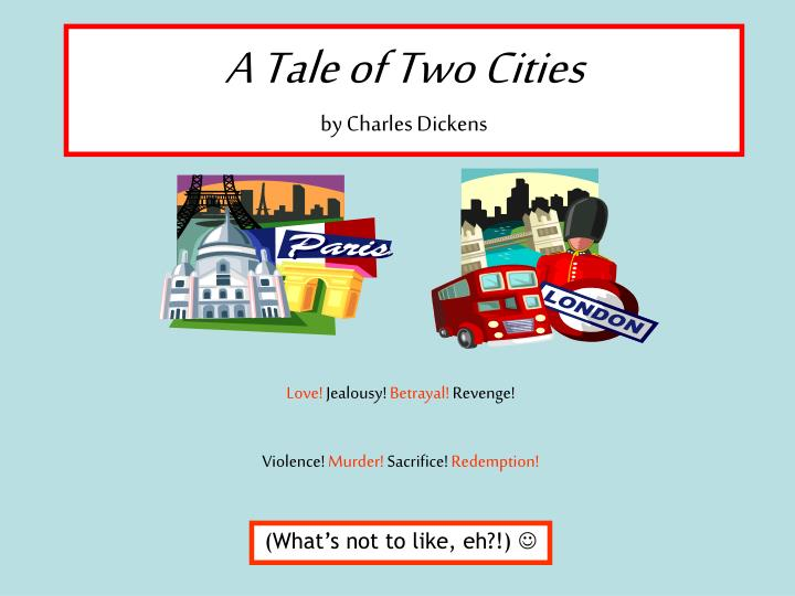 a tale of two cities by charles dickens n.