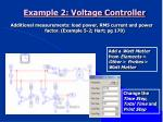 example 2 voltage controller24