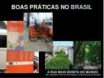 boas pr ticas no brasil