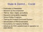 state district contd