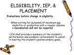 eligibility iep placement2