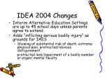 idea 2004 changes2