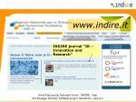www indire it