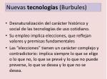 nuevas tecnolog as burbules