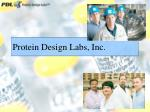 protein design labs inc