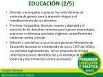 educaci n 2 5